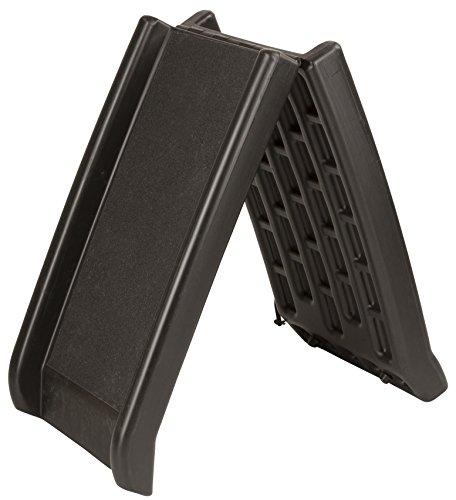 Kerbl 81335 Hunderampe aus Kunststoff, 160 x 42 cm, schwarz