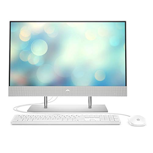 HP 27-dp0024ng (27 Zoll / FHD) All-in-One (Intel Core i5-10400T, 8GB DDR4 RAM, 512 GB SSD, Intel UHD Grafik, Windows 10) silber