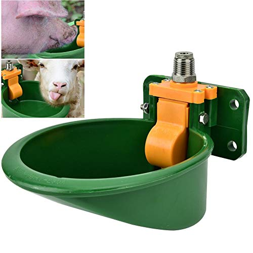 Tränkebecken Automatische Schweinetränke Professionelle Selbsttränke Tränkebecken Viehtrinkbecher für Pferde Ziegen Kühe Rinder