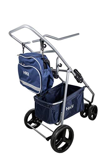 HKM Sports Equipment GmbH Sattelkarre, faltbar Transport-ausrüstung, Mehrfarbig, One Size