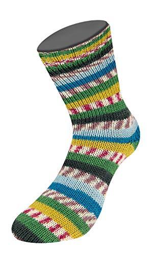 LANA GROSSA Sockenwolle 420m strapazierfähig pflegeleicht Farbe 4885