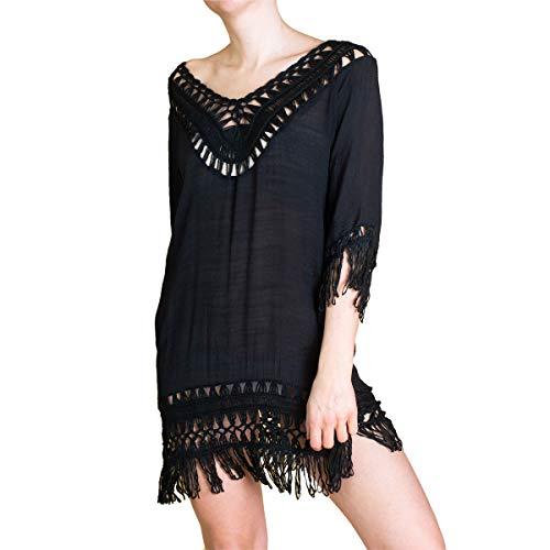 PANASIAM Ibiza Dress 002 in Black, Unisize