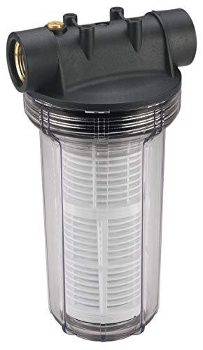 Einhell 25 cm Vorfilter Pumpen-Zubehör (Entlüftungsschraube, Messing-Innengewinde 33,3 mm (1