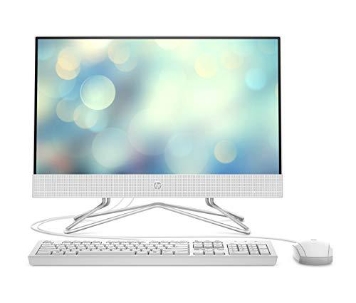 HP 22-df0004ng (21,5 Zoll / Full HD) All-in-One PC (AMD Ryzen 3 3250U, 8GB DDR4 RAM, 256 GB SSD, AMD Radeon Vega 3 Grafik, Windows 10) weiß