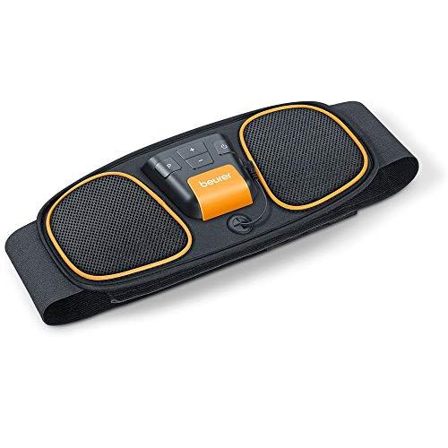 Beurer EM 32 Bauchmuskel-Gürtel, zur Muskelstimulation, EMS Bauchtraining, 2 verschleißfreie Carbon-Elektroden