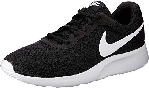 Nike Herren Tanjun Laufschuhe, Schwarz (011 Black/White), 41 EU