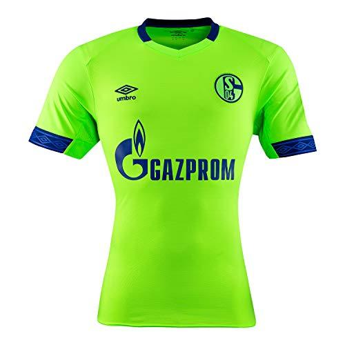 UMBRO Herren Fußballtrikot FC Schalke 04 3rd Kurzarm schwarz/grün (702) M