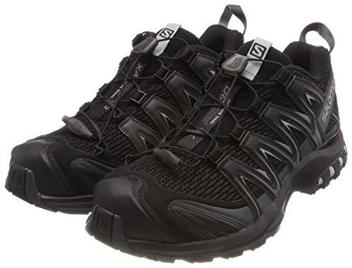 Salomon Herren Trail Running Schuhe, XA PRO 3D, Farbe: schwarz (Black/Magnet/Quiet Shade) Größe: EU 46