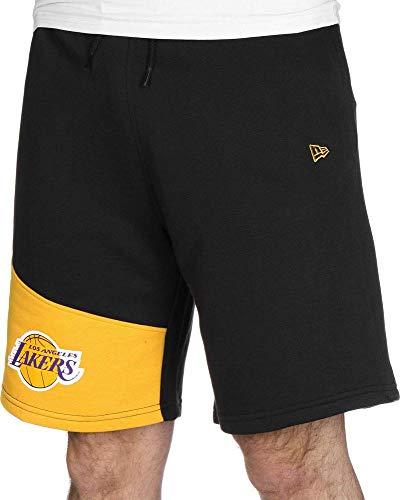 A NEW ERA Herren NBA Colour Block Short Loslak Blkcan Kurze Hose, schwarz, M