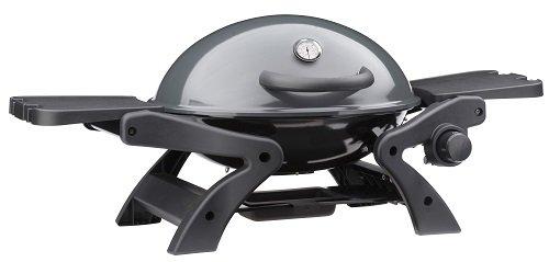 GrillChef Portabler Gasgrill, schwarz