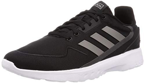 adidas Herren Nebzed Laufschuhe, Schwarz Core Black Dove Grey Grey Six, 39 1/3 EU