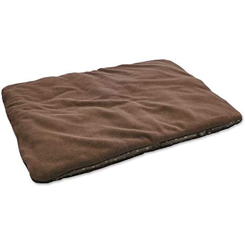 vitazoo Hundedecke, braun, isoliert und leicht gepolstert – sehr leicht,auch für Katzen, ideal zum Mitnehmen und Transportieren, rutschfeste Unterseite, 70cm x100cm