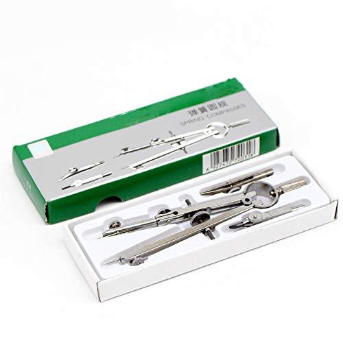 Professionelle Zeichnung Kompasse Set Technische Präzision Schule Metall Bogen Teiler Feder Kompasse Zeichnung Werkzeug