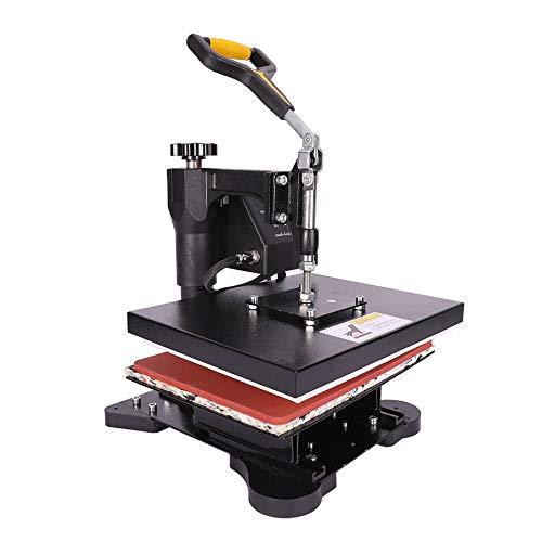 Z ZELUS Transferpresse Hitzepresse Heat Press 30x23cm Heißpresse Maschine Mulitifunktional für T-Shirts Textildruck