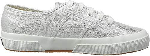 Superga Damen 2750 Lamew Sneakers, Silber (Grey Silver 031), 42 EU