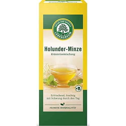 Lebensbaum Holunder & Minze im Beutel (20 Beutel) - Bio