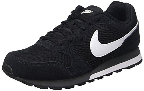 Nike Md Runner 2, Herren Gymnastikschuhe, Schwarz (Black/White-Anthracite 010), 44.5 EU