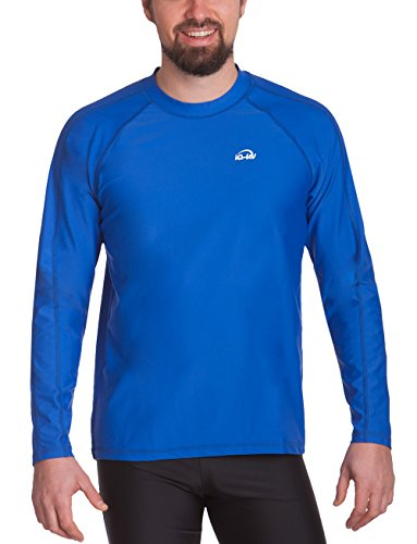 iQ-Company Herren UV-Schutz T-Shirt IQ 300 Watersport Long Sleeve, Dunkelblau, M, 649122_2445