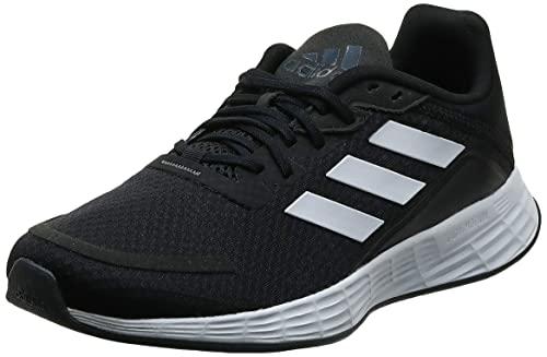 adidas Mens Duramo SL Running Shoe, Core Black/Footwear White/Grey, 44 EU