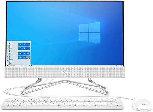 HP 22-df0002ng (21,5 Zoll / Full HD) All-in-One PC (Intel Pentium J5040, 4GB DDR4 RAM, 256 GB SSD, Intel UHD-Grafik 605, Windows 10) weiß