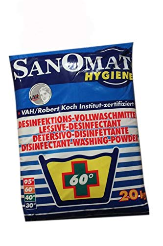 Waschmittel Desinfektion 20 kg Sanomat von Rösch Waschpulver