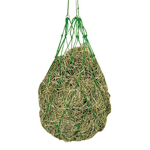 Kerbl Heunetz Heuraufe Beschäftigungsnetz Heusack Futternetz, Maschen 10 x 10 cm, Grün