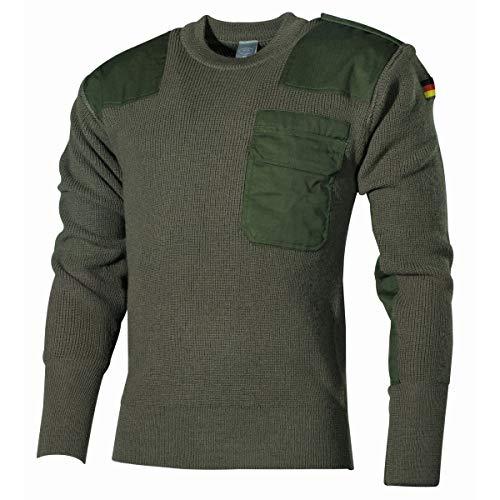 MFH Schwerer Bundeswehr Pullover mit Brusttasche (Oliv/48)