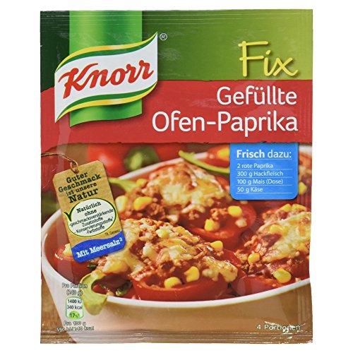 Knorr Fix Gefüllte Ofen-Paprika 4 Portionen