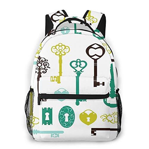 Rucksack Männer und Damen, Laptop Rucksäcke für 14 Zoll Notebook, Haustierfutter Wasser 51 Kinderrucksack Schulrucksack Daypack für Herren Frauen