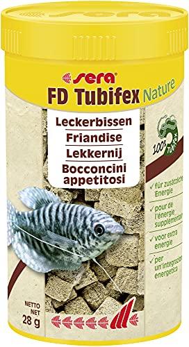 sera Tubifex Würfel 250 ml, 1er Pack (1 x 250 ml)