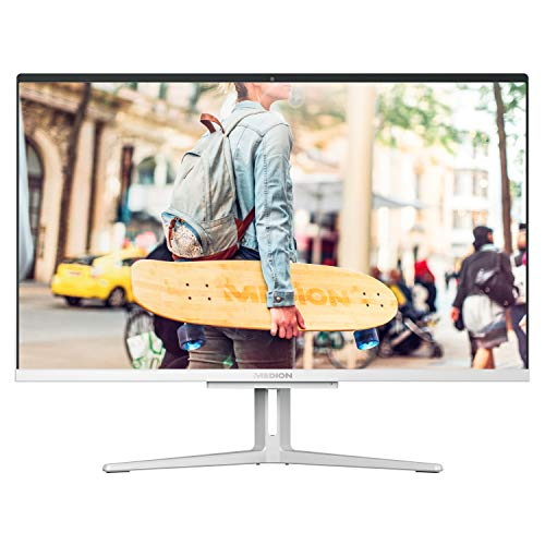 MEDION E23403 60,5 cm (23,8 Zoll) Full HD All in One Desktop Computer (Intel Core i5-1035G, 8GB DDR4 RAM, 1TB PCIe SSD, WLAN, Win 10 Home)