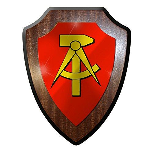 Wappenschild - DDR deutsche demokratische Republik 1949-1990 Hammer Zirkel #9274