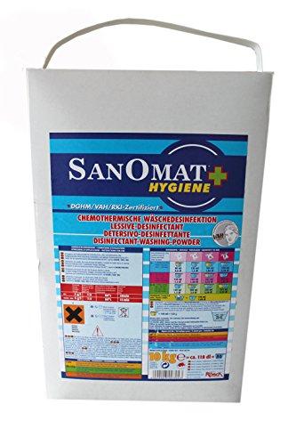 Desinfektionswaschmittel Sanomat Hygiene VAH und RKI gelistet, DGHM zertifiziert, 10 kg