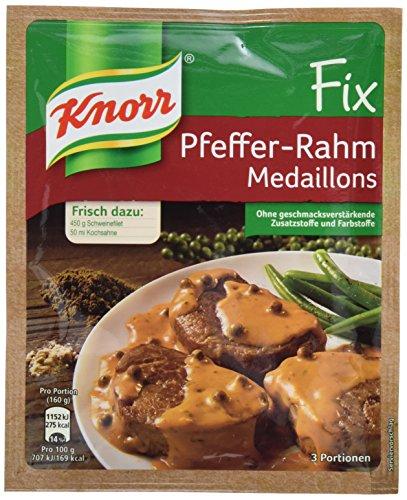 Knorr Fix Pfeffer-Rahm Medaillons 3 Portionen (12 x 35 g)