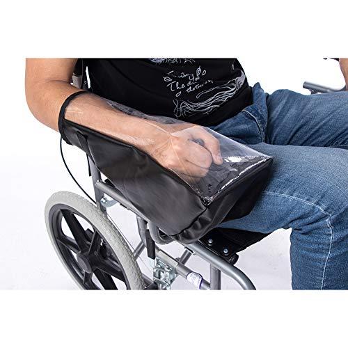 QEES JJZ161 Elektro-Rollstuhl-Zubehör, wasserdichte Power Rollstuhl-Arm-Joystick-Abdeckung, elektrischer Rollstuhl-Schutz, hält trocken