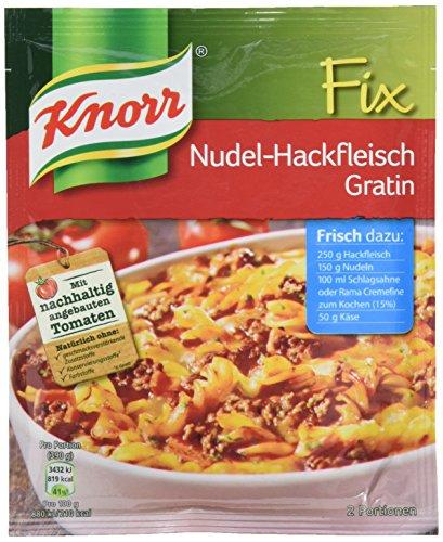 Knorr Fix Nudel-Hackfleisch Gratin 2 Portionen (10 x 36 g)