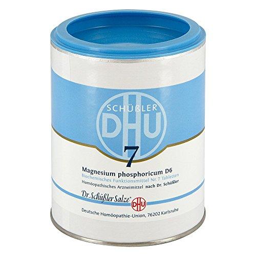 DHU Schüßler-Salz Nr. 7 Magnesium phosphoricum D6 Tabletten, 1000 St. Tabletten