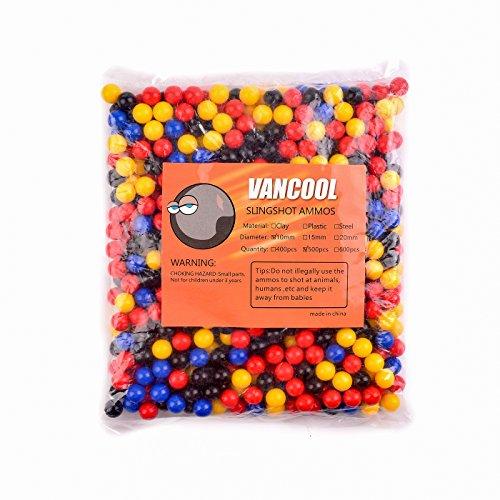 Vancool Professional Kunststoff Mehrfarbig Slingshots Ammo 3/8
