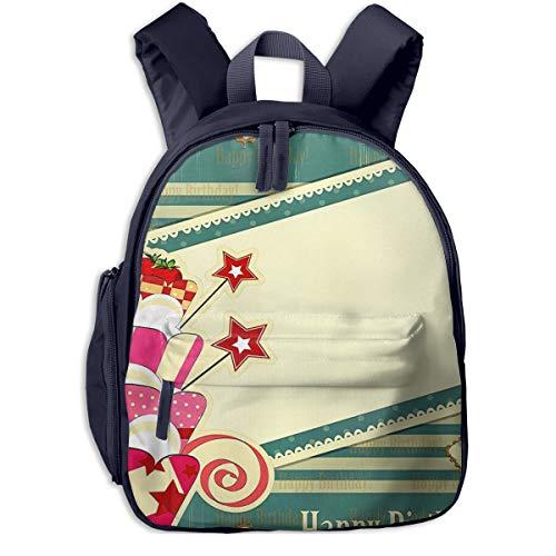 Kinderrucksack Haustierfutter Wasser 53 Babyrucksack Süßer Schultasche für Kinder 2-5 Jahre
