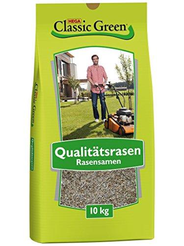 Classic Green Rasensaat Mischung zum Begrünen Rasensaat 10kg| Grassamen | Rasensamen 10kg | Premium Rasensaat | Rasensaat Mischung zum Begrünen | Rasensaatgut | Rasensaat zum Begrünen| Rasen Grassamen Mischung