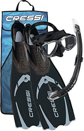 Cressi Pluma / Pluma Bag - Premium Flossen /Schnorchel Set