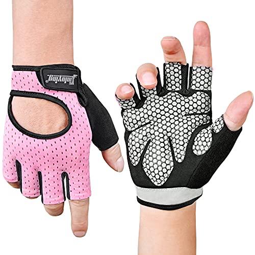 Fitself Fitness Handschuhe Damen Herren Atmungsaktive Gewichtheben Trainingshandschuhe für Sport Gym Krafttraining Bodybuilding Workout Radfahren