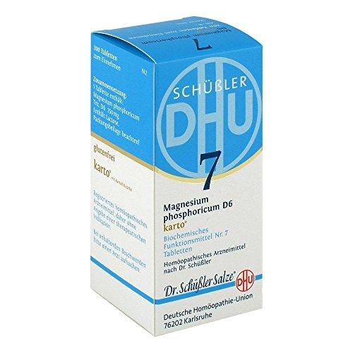 DHU Schüßler-Salz Nr. 7 Magnesium phosphoricum D6 Tabletten karto, 200 St. Tabletten