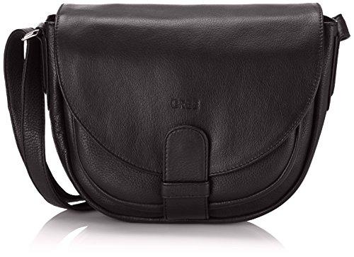 BREE Lady Top 2, black, ladies' handbag 10900102 Damen Henkeltaschen, Schwarz (black 630), 29x20x12 (BxHxT) (Herstellergröße: 33x27x15cm)