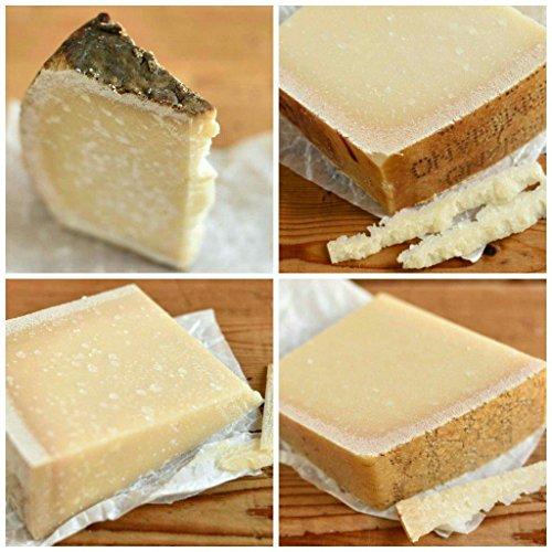 Parmesan, Pecorino & Brüder - Probierpaket - Set 4 bis 6 Sorten = 1.000g Käse VAKUUMIERT - Auch ideales Geschenk/Präsent