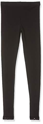 Name IT NOS Mädchen Leggings NKFVISTA, Schwarz (Black), (Herstellergröße: 98)