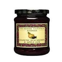 Thursday Cottage - Reduced Sugar Blackberry & Apple Jam - 315g