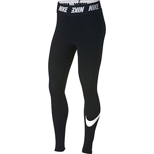 Nike Damen Sportswear Club High-Rise Leggings, Black/White, M