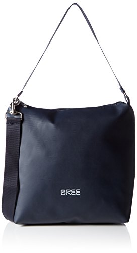 BREE Punch 702, blue, cross shoulder M 83251702 Damen Umhängetaschen 30x12x32 cm (B x H x T), Blau (blue 251)