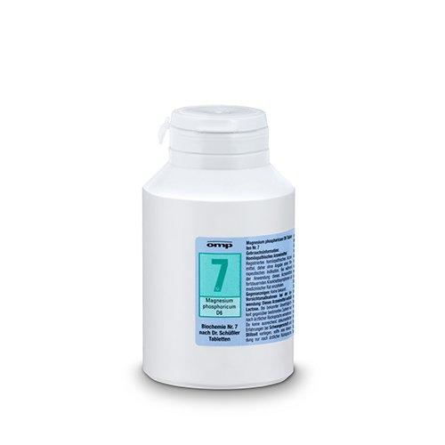 Schuessler Salz Nr. 7 Magnesium phosphoricum D6 - 1000 Tabletten, Das Salz der Muskeln und Nerven, glutenfrei